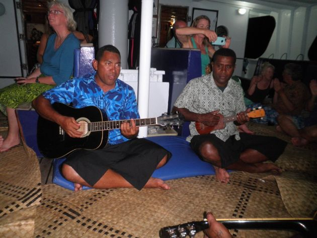 Kava party on board NAI'A