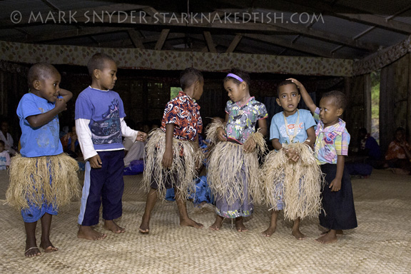 Local Fijian children on the local village visit; Taken by Mark S.