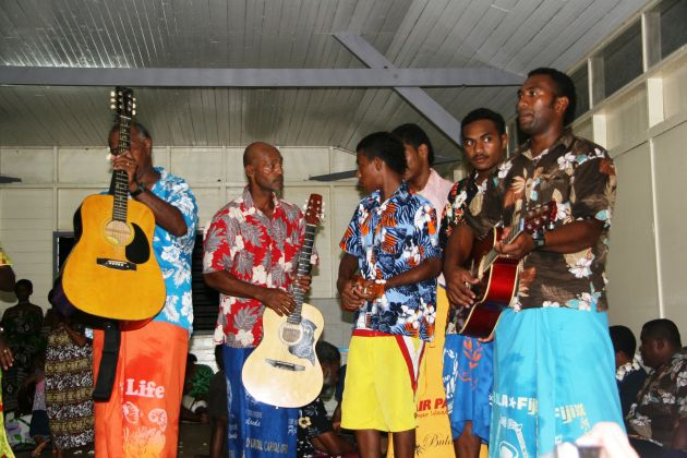 Isei Isa sung by the villagers at Makogai