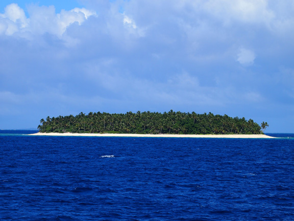 One of the many stunning Islands that make up the Ha'api group - taken by Mary