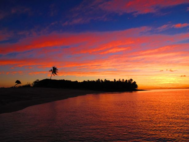 Tongan sunset - by Uwe