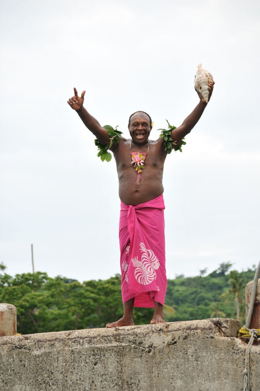 A Fijian Welcome by Chris